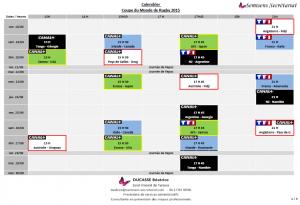 Page 1 calendrier Coupe du monde de rugby